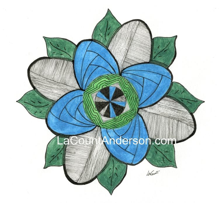 flower Zendala watermarked