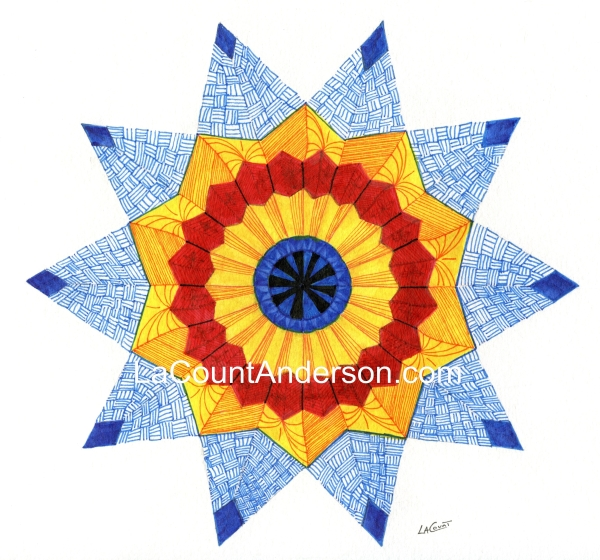Lakota inspired mandala watermarked