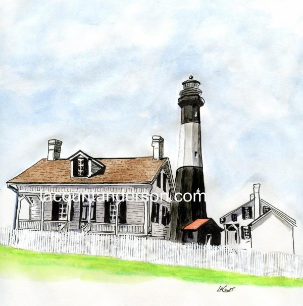 Tybee lighthousewtrmked